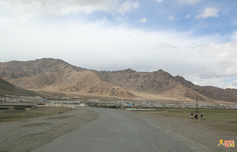 Entering Murghab