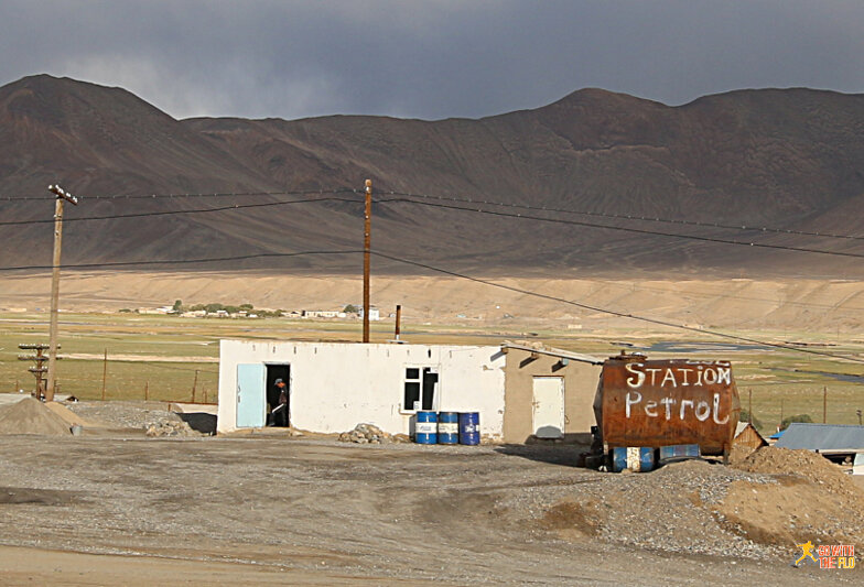 Petrol station (obviously) in Murghab