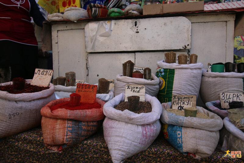 Osh central bazaar
