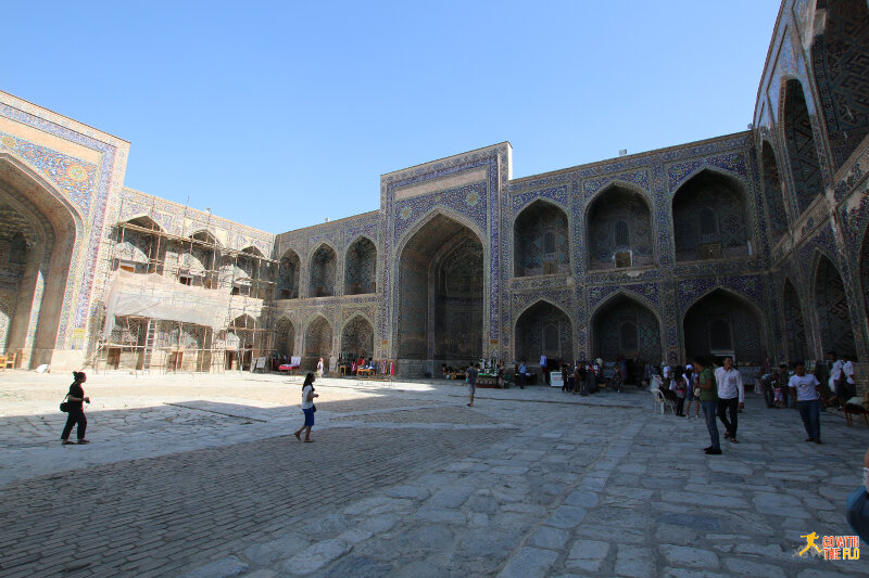 Inside Sher Dor Medressa