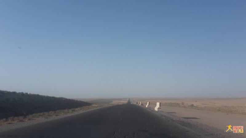 Samarkand to Sariosiyo