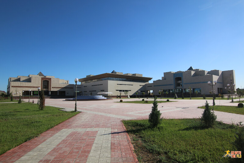 Exterior of the Nukus Museum of Art (Savitsky Mueseum)