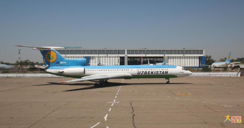 Uzbekistan Airways Tu-154