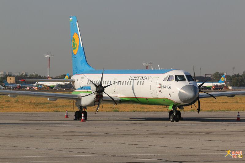 Uzbekistan Airways Il-114