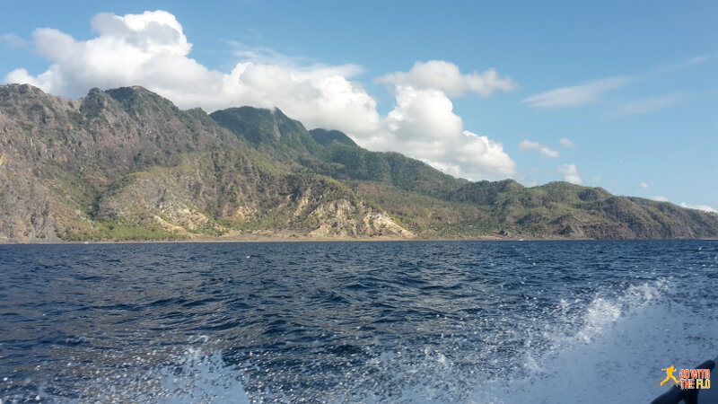 Approaching Atauro Island