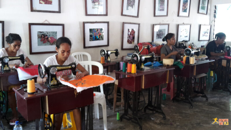 Workers at the doll factory in Vila, Atauro Island