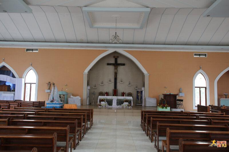 Inside the Igreja de Balide