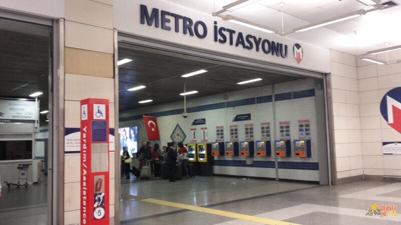 Istanbul Atatürk Airport metro station