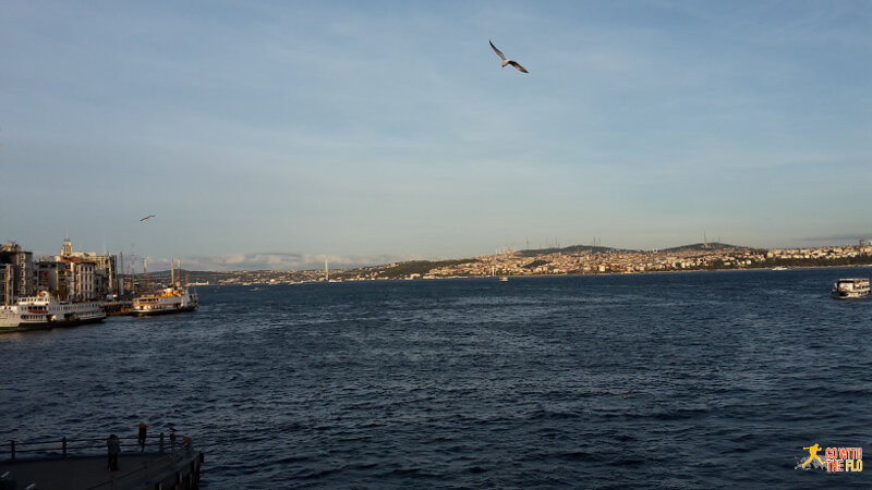 View towards Üsküdar