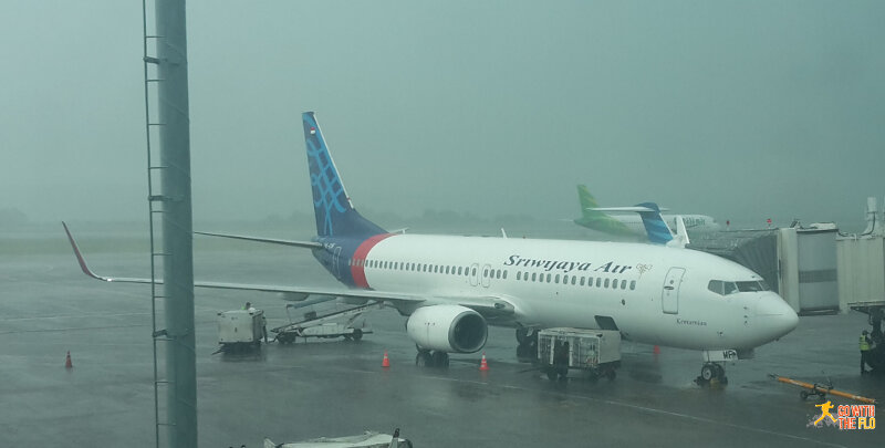 Sriwijaya Air at Denpasar Airport