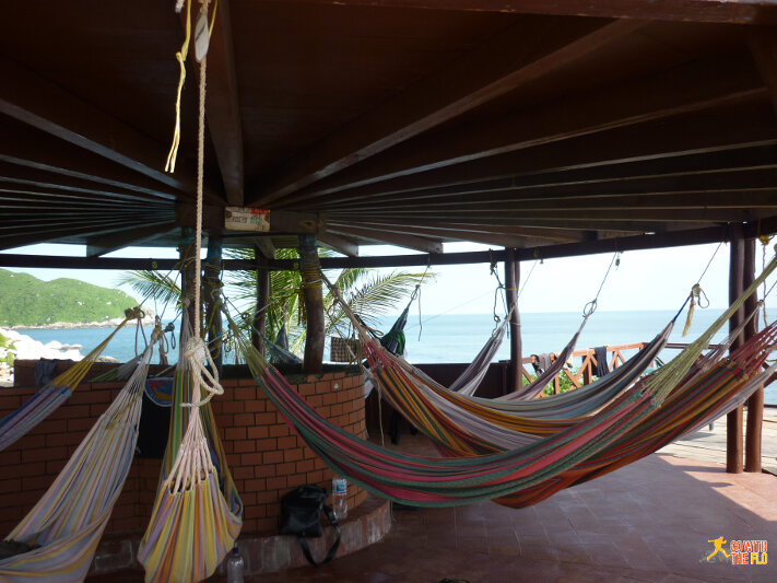 "A unique ""dorm"" in the Tayrona National Park, Colombia"