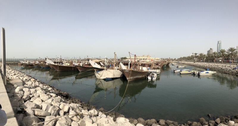 Kuwait boats
