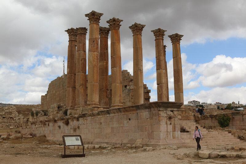 Jerash Temple of Artemis