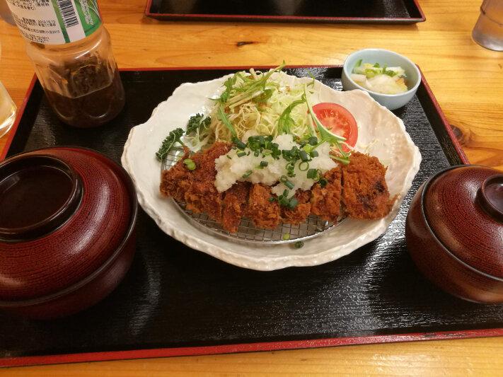 Chicken Katsu at Fuji Yurari Hot Spring
