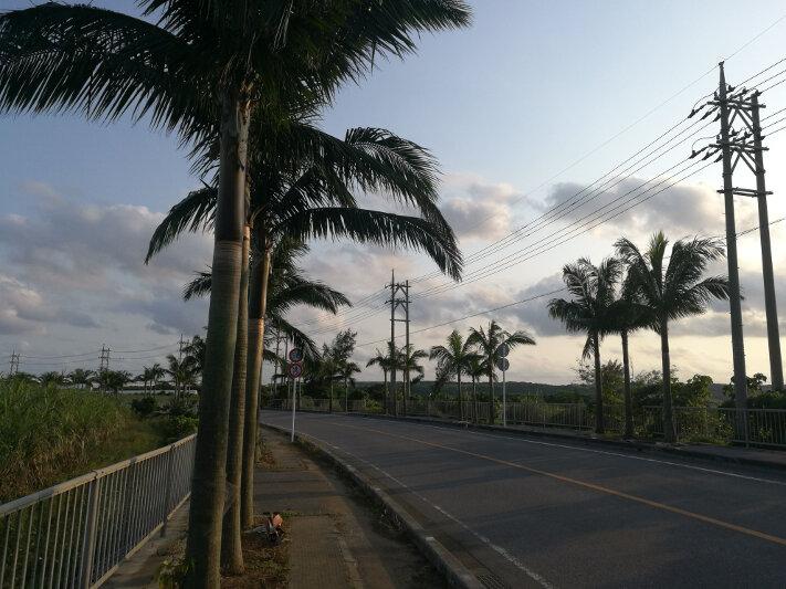 Airport Road on Ishigaki