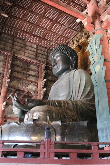 Tōdai-ji - bronze Buddha