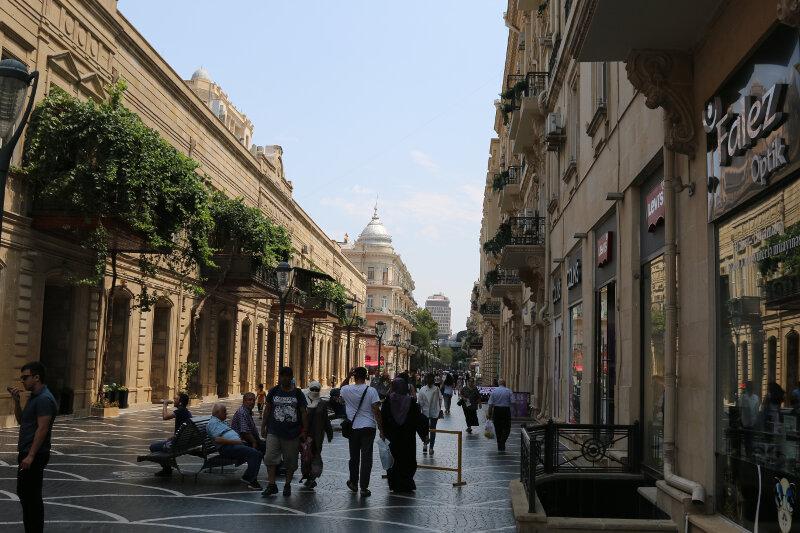 Main pedestrian shopping street