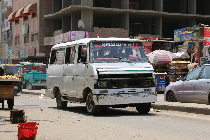 Bus in Giza