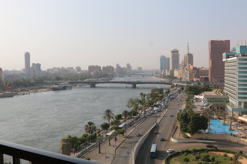 View across the Nile