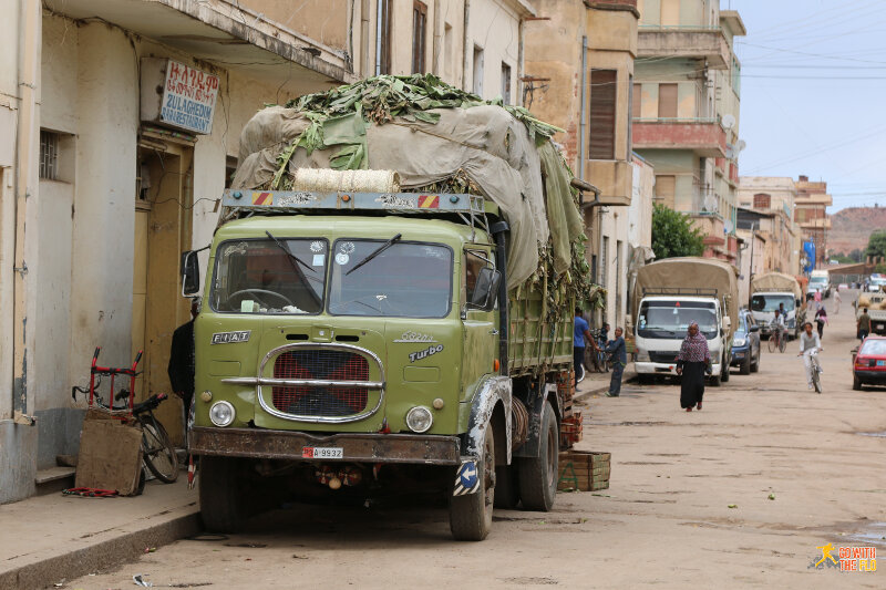 Old Italian truck