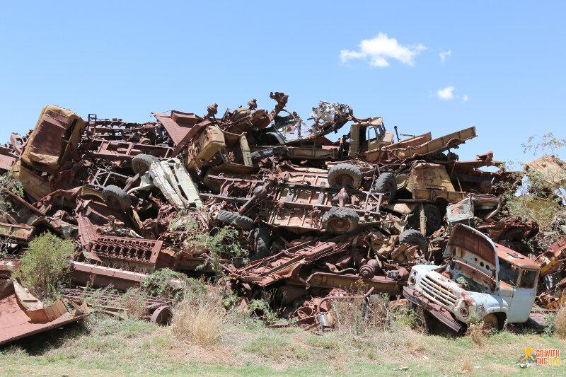 Asmara Tank Graveyard