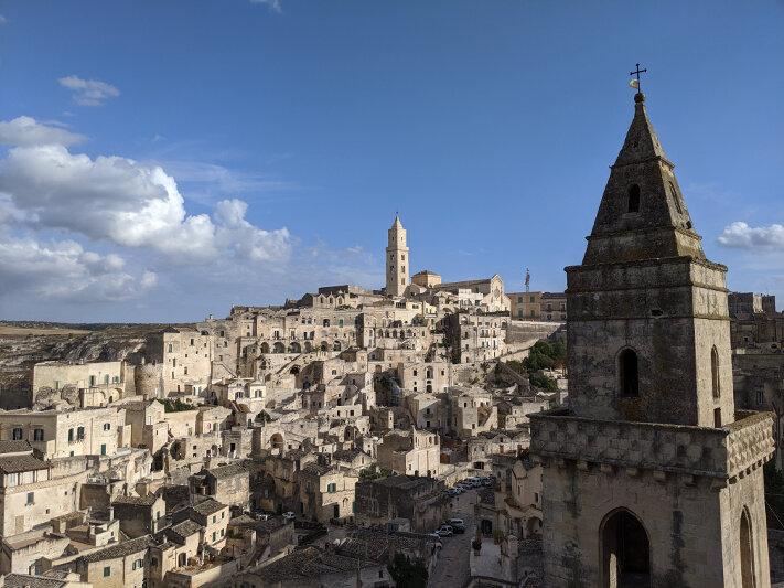 Matera - a unique town