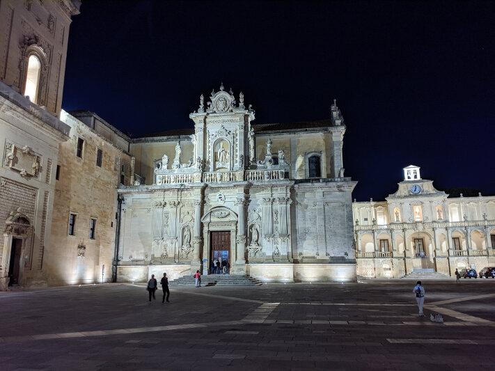 Piazza del Duomo in Lecce