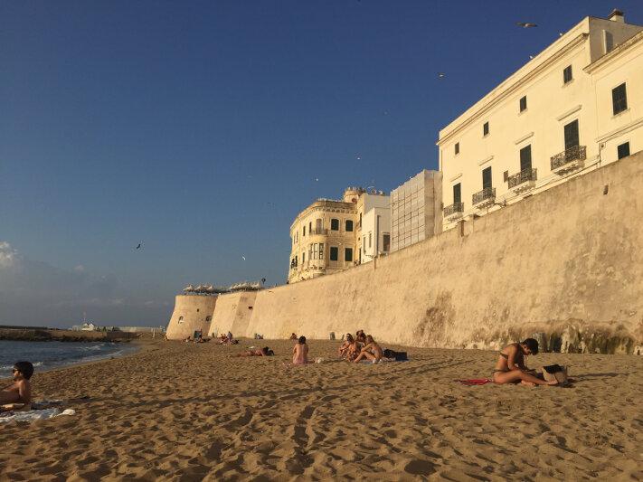 Spiaggia della Purità, Gallipoli
