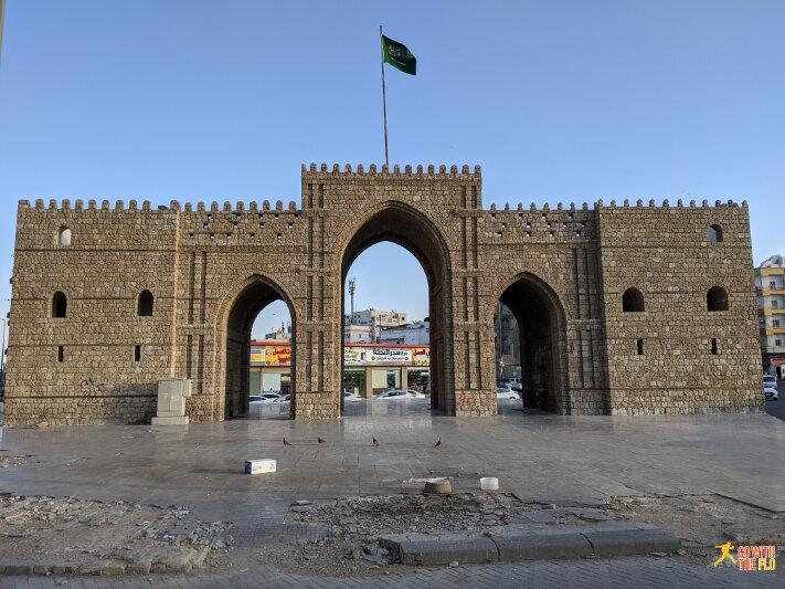 Baab Makkah - entry gate to Al-Balad