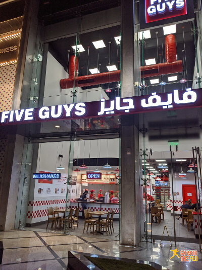 International Fast Food is everywhere in Jeddah