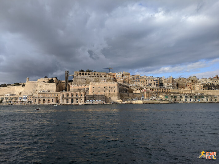 View from Senglea towards Birgu