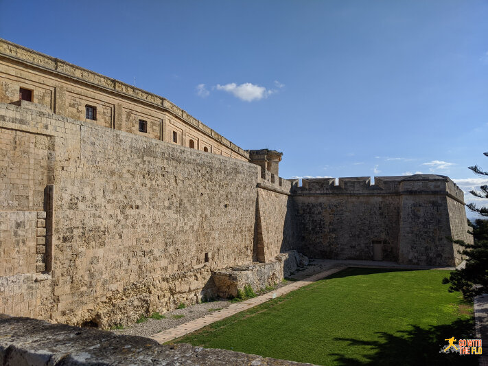 Mdina City Wall
