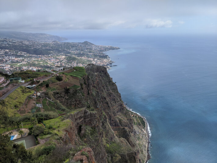 View towards Funchal