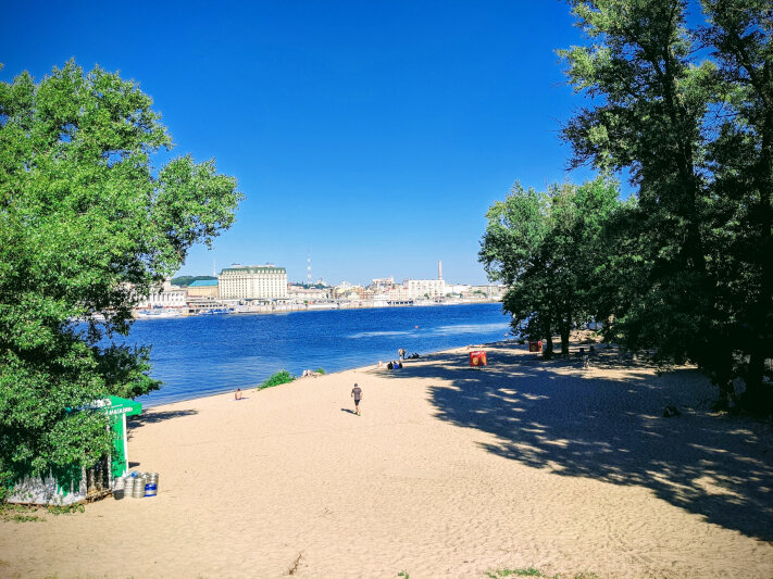 Beach on Trukhanov Island