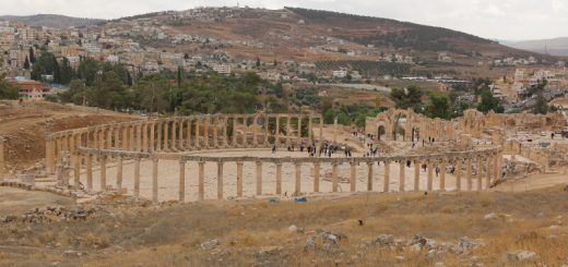 Oval Forum and Cardo Maximus